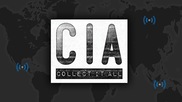 CIA: Collect It All on Kickstarter