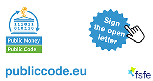 Public Money, Public Code - Sign The Open Letter at publiccode.eu