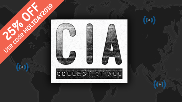 CIA: Collect It All Is Now 25% Off, And The Print-And-Play Version Is Free!