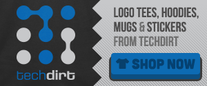 Shop Now: Techdirt Logo Gear