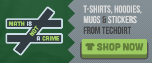 Shop Now: Math Is Not A Crime